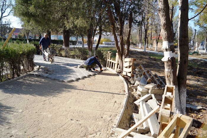 парк реконструкция